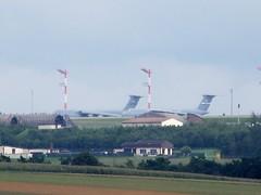 avion transport américain sur base américaine en eifel près de gondorf