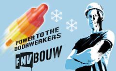 FNV Bouw werkt met 'organizers' om werknemers te faciliteren bij het actievoeren