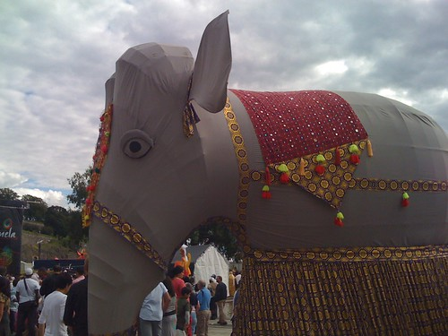 Elephant at the Mela Festival, Oslo