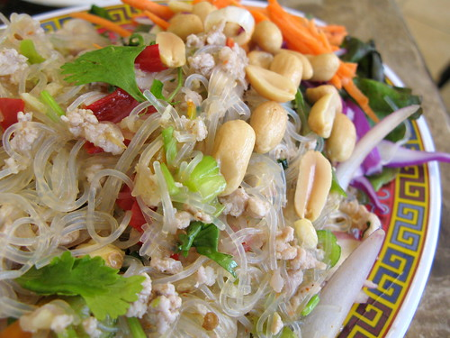 Glass Noodle Salad at Sab E Lee