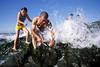 0812E70019 (Paulgi) Tags: ocean summer man beach portugal canon children book mar europe kodak father wave chrome elite pilgrims romeiros minho esposende 17mm bartolomeu paulgi sãobartolomeudomar romeiros~pilgrims