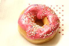 Hundreds and thousands (cherry robber) Tags: pink donut doughnut hundredsandthousands codette