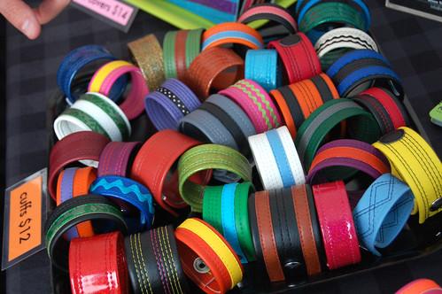 vinyl cuffs