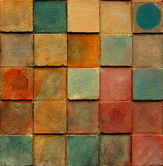 five by five #1 (booksin) Tags: sf sanfrancisco california abstract color texture colors northerncalifornia wall catchycolors grid squares 25 northbeach bayarea abstraction sanfransisco quadrilateral parallelagram booksin gridlines colourartaward artlegacy abstacted copyrightbybooksinallrightsreserved