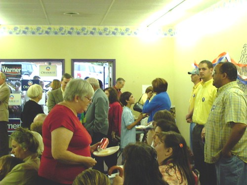 Opening Obama's Tazewell Campaign Office - Sept. 25, 2008