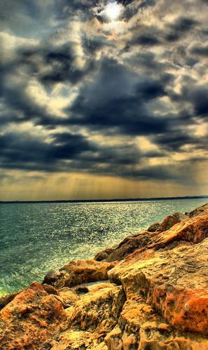 Nuvole sul Garda (HDR)
