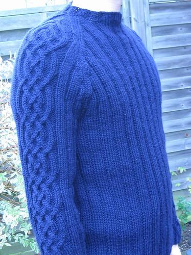 Elizabeth Zimmerman sweater 2