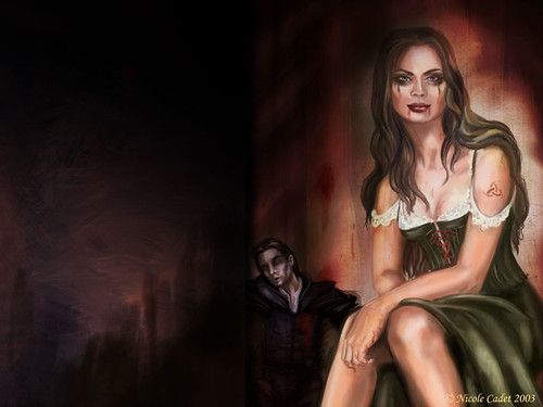 Wallpaper 1, artwork by Nicole Cadet