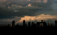 (J E W E L S) Tags:                            clouds darkness heart doha qatar eid mubarak jewels