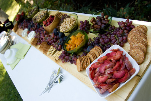 Wedding Reception Food Ideas On A Budget: A Backyard Wedding: Details: Food (yum