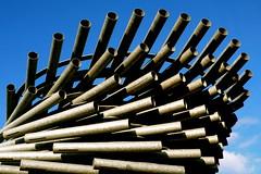 Singing Ringing Tree (minus1dave) Tags: mountain lancashire overlooking range pennine panopticon burnley windpowered musicalsculpture singingringingtree resemblingtree
