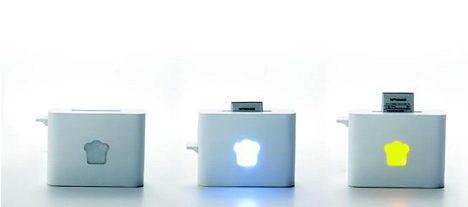 烤麵包機外形的電池充電器