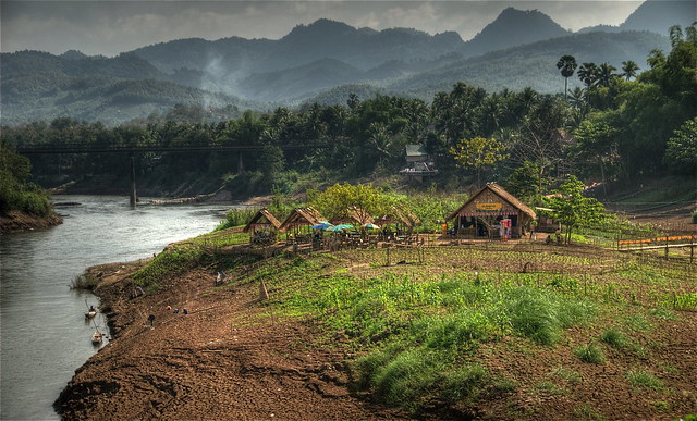 Laotian countryside