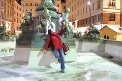 Verena flashed! (michi.p) Tags: vienna wien neuermarkt donnerbrunnen verenav ftwien ftwien081217