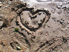 Heart in the Sand - Lake Lipno - Czech Republic (Been Around) Tags: love sand europa europe niceshot heart czech travellers eu tschechien tschechischerepublik amour czechrepublic cz bohemia herz liebe stausee moldau bhmen lipno esko eskrepublika 5photosaday onlyyourbestshots concordians worldtrekker visipix lakelipno expressyourselfaward bauimage
