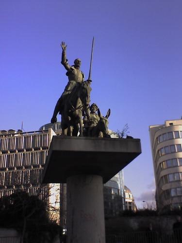 Don Quixote & Sancho Panza Sculpture 4