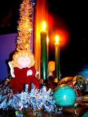 solstice altar, detail