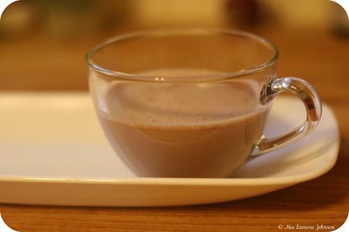 hot chocolate (ibarra- yum!)