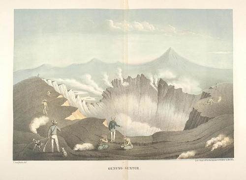 Java seine Gestalt, Pflanzendecke und innere Bauart 1857 (Junghuhn) f