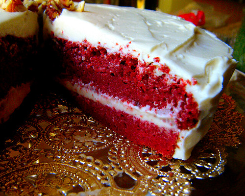 Healthy Indulgences Red Velvet Cake