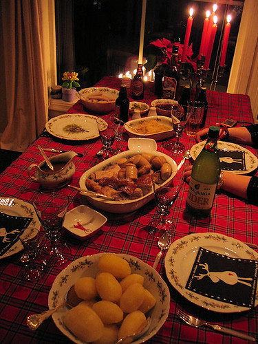 christmas dinner :: julemiddagen {365 :: 24.12}