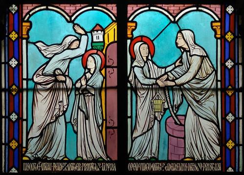 003- Vitral nº 3 claustro Notre Dame de Paris