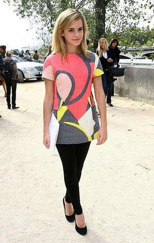 Emma watson fashion show