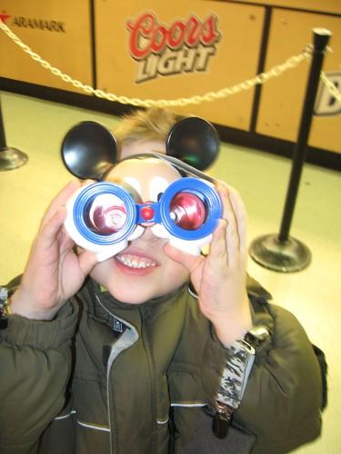 New Mickey binoculars