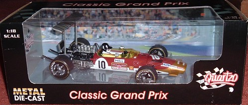 Graham Hill Lotus 49B (1968) 1:18 scale model