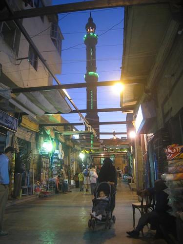 The market in Aswan
