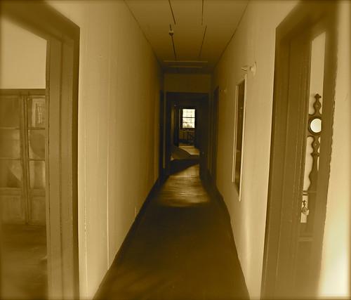 upper hallway, French Hotel