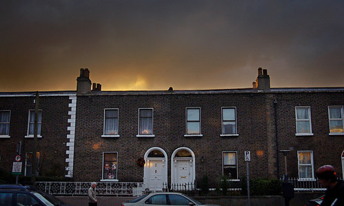 Light over Stoneybatter
