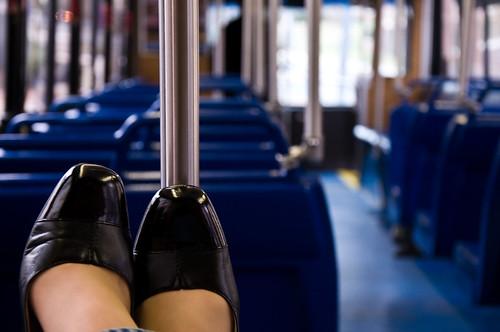 La vida desde el bus. Foto cortesía de swimparallel