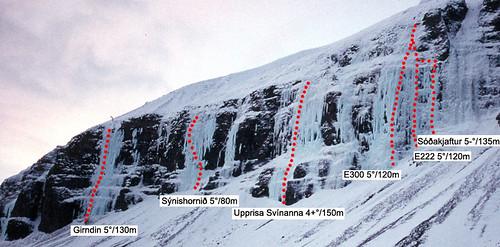 Girndin, Sýnishornið, Upprisa Svínanna, E300, E222, Sóðakjaftur