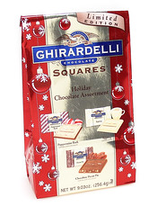 Ghirardelli Christmas Squares