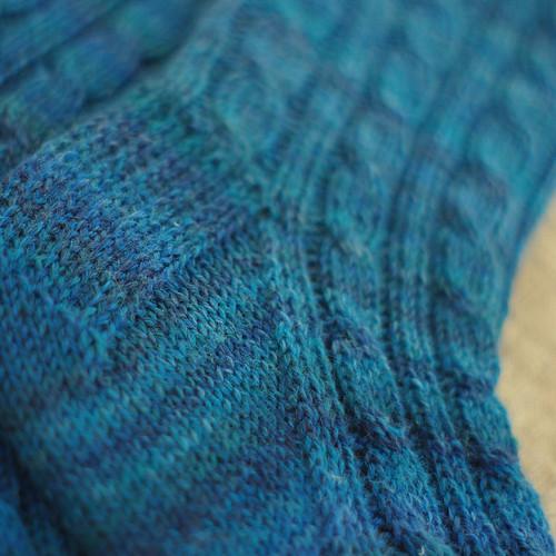 Sock #32 (52 Sock Challenge) - detail