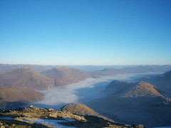 Temperature Inversion over Loch Arkaig (Graham Grinner Lewis) Tags: scotland highlands glenfinnan locharkaig