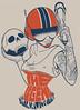 The Legend - Estampa (ilustracionamentador) Tags: black color art design arte graphic drawing tshirt victor draw cor camiseta ilustração ilustration desenho chalks grafico estampa ilustrando victorjam