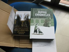 Burma Chronicles + antología steampunk (by jmerelo)