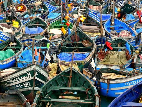 Barques de peche à Agadir par vous