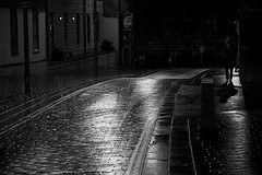 Someday a real rain will come (opu) Tags: street rain liverpool candid nighttime travisbickle vernonstreet