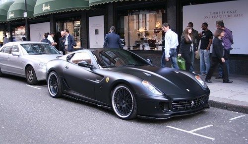 A matte paint, black wheels and black tail lights make this all the sudden a