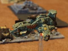 Thunderhawk Gunship (Kaptain Kobold) Tags: game miniatures warhammer hott epic airboat wargames gunship wh40k wargaming spacemarine necron hordesofthethings kaptainkobold thunderhawk epic40k
