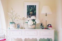 {bright white, shining light} ({Jessica Louise}) Tags: wood flowers white modern interiors furniture decoration books decor interiordesign gardenroom