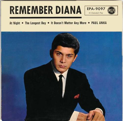 Anka,Paul - Remember Diana - Germany - 1963