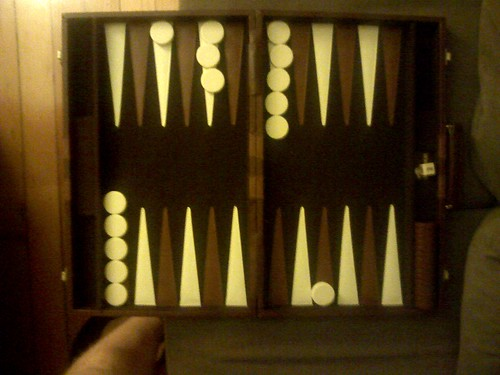 Best game of backgammon EVER!