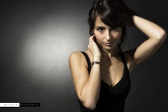 Portrait (edouardv66) Tags: portrait woman color girl face studio switzerland model nikon suisse geneva 85mm nikkor genève strobist d700