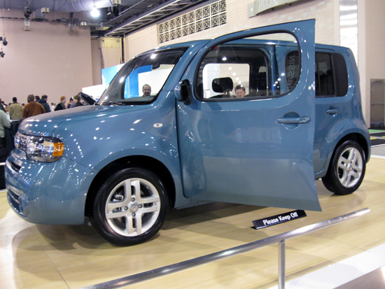 The Nissan Cube (Click to enlarge)
