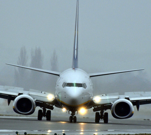 Boeing 737-800. Ryanair.