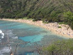 Overview of Hanauma Bay (LVJeff) Tags: hawaii oahu hanaumabay